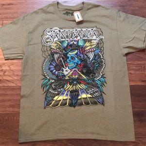 Carlos Santana Psychedelic Woodstock T-shirt